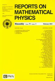 Reports on Mathematical Physics 75/1 2015 kraj,