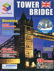 Puzzle 3D Budowle Empire state Tower Bridge 41,