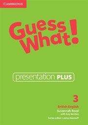 Guess What! 3 Presentation Plus DVD, Reed Susannah, Bentley Kay
