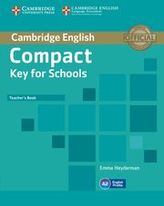 Compact Key for Schools Teacher's Book, Heyderman Emma