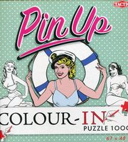 Pin-Up Color-In puzzle do kolorowania 1000,