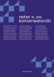 Notes konserwatorski Tom 18,