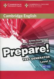Cambridge English Prepare! 4 Test Generator CD-ROM,