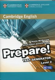 Cambridge English Prepare! 2 Test Generator CD-ROM,