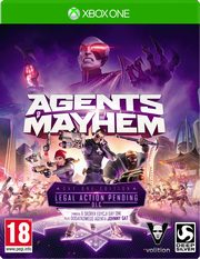 Agent of Mayhem Xbox1,