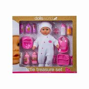 Lalka bobas little treasure set,