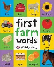 First 100 Soft to Touch Farm Words, Priddy Roger