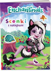 ENCHANTIMALS Scenki z Naklejkami,