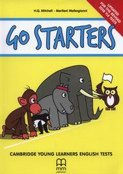 GO STARTERS STUDENT`S BOOK  revsion 2018 w CD,