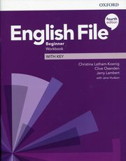 English File 4E Beginner WB with Key,