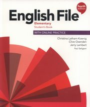 English File 4E Elementary SB with Online Prac,