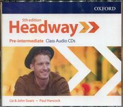 Headway Pre-Intermediate Class Audio CDs,